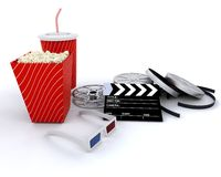 Going to the cinema Stock Photography