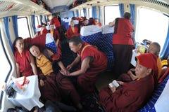 Going to Lhasa Royalty Free Stock Photos