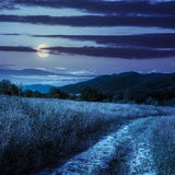 Going to nature at night Royalty Free Stock Images
