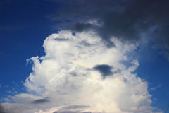 When going to rain. Cloudy when going to rain Royalty Free Stock Photos