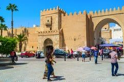 Going to Sfax Medina Royalty Free Stock Photo