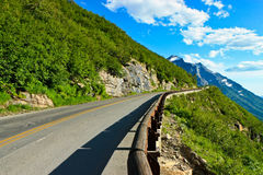 Going-to-the-Sun Road, Glacier National Park Stock Photos