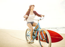 Going to Surf Royalty Free Stock Images