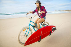 Going to Surf Royalty Free Stock Photos