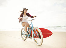 Going to Surf Stock Photography
