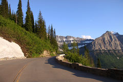 Going To The Sun Road Royalty Free Stock Photo
