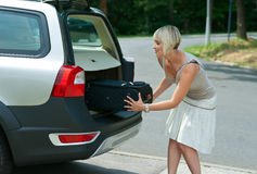 Going to vacation Stock Photo