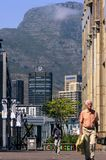 Going to work in Cape Town city stock photos