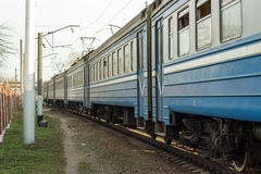 Going train Royalty Free Stock Photo
