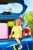 Going on a trip Royalty Free Stock Images