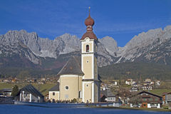 Going in Tyrol Stock Images