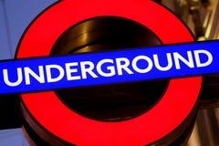Going Underground Royalty Free Stock Photos