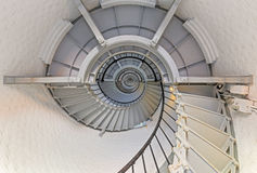 Going Up - Lighthouse Interior Stock Images