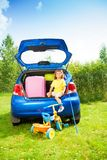 Going on vacation Stock Photo