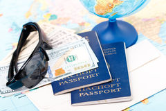 Going on vacations Stock Photography
