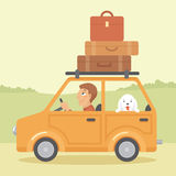 Going on vacations Royalty Free Stock Photo