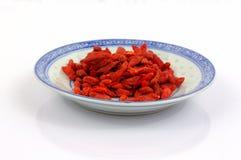 Goji莓果。 免版税库存图片