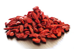 Goji berries Stock Photography