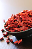 Goji berries royalty free stock photos