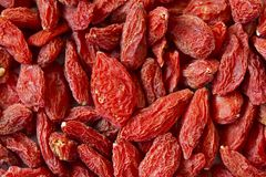 Goji Berries. A macro photo of Goji Berries / Wolfberry. Can be used as background stock photo