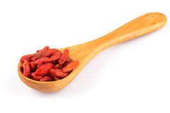 Goji berries close up Stock Images