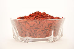Goji Berries in a cup Royalty Free Stock Image