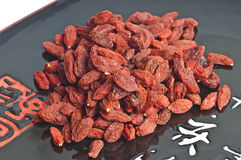 Goji-berries, Lycium barbarum Royalty Free Stock Image