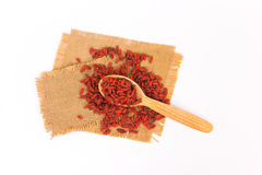 Goji berries Royalty Free Stock Images