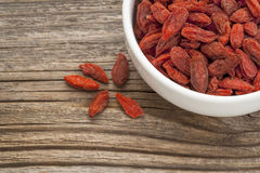 Goji berries Stock Photos
