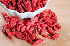 Goji berries Stock Photo