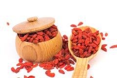 Goji berries Royalty Free Stock Image