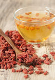 Goji berries  . Royalty Free Stock Photos