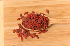Goji berries Stock Images