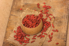 Goji berries Royalty Free Stock Photography