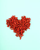 Goji berry. Goji berries on the table Stock Photography