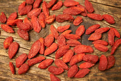 Goji berry fruits Royalty Free Stock Photography