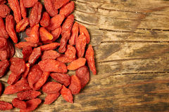 Goji berry fruits Stock Images
