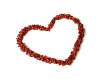 Goji Berry Heart Royalty Free Stock Images