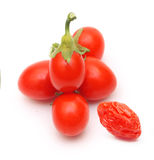 Goji berry isolated Stock Images