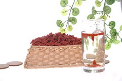 Goji berry or wolfberry Royalty Free Stock Photography