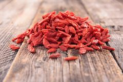 Goji berry Stock Images