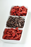 Goji and Cacao Stock Image