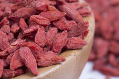 Goji closeup Royalty Free Stock Image
