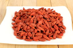 Goji fruits Stock Image