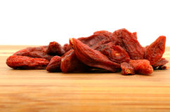 Goji fruits Royalty Free Stock Images