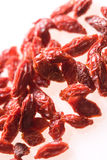 Goji tropical dry fruit. Used in steamed soups Royalty Free Stock Photography