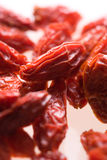 Goji tropical dry fruit Stock Image