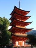 Goju-nenhum-Ao Pagoda, Miyajima Imagem de Stock