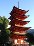 Goju-no-to Pagoda, Miyajima Stock Image