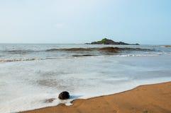 Gokarna海风景 免版税图库摄影